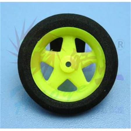 HY006-00701~03  Super Light 5-Spoke Wheels (Sponge Tyre)